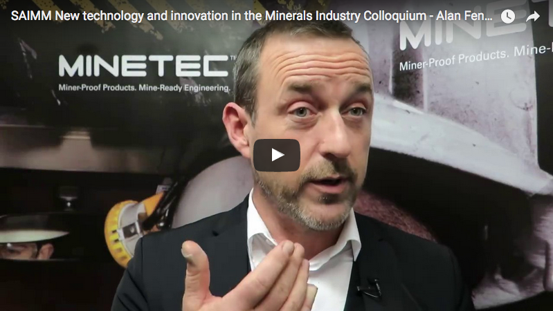 New technology and innovation in the Minerals Industry Colloquium 2016