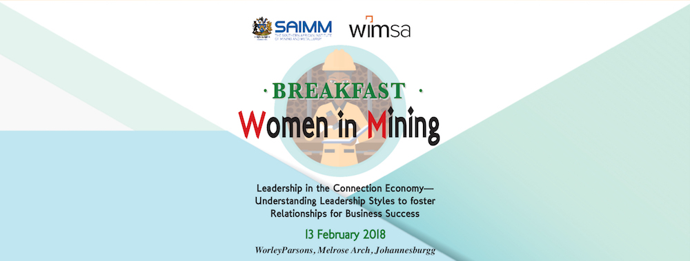 SAIMM - Women in Mining Breakfast-Upcoming Events