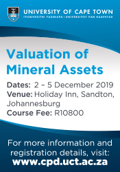 UCT-Valuction of mineral assets