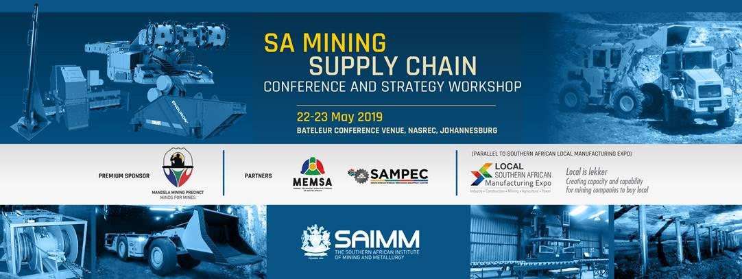 SAIMM - SA Mining Supply Chain Conference and Strategy