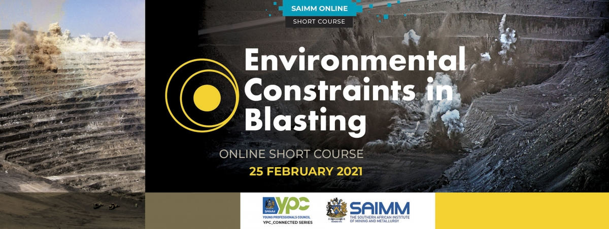 Environmental Constraints in Blasting - Online short course