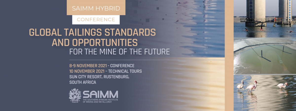 Global Tailings Standards and Opportunities for the Mine of the Future