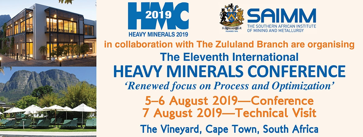 Heavy Minerals Conference 2019